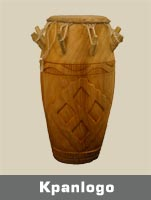 The Kpanlogo drum as with other African drums were used as a form of communication as they could be heard clearly over large distances.